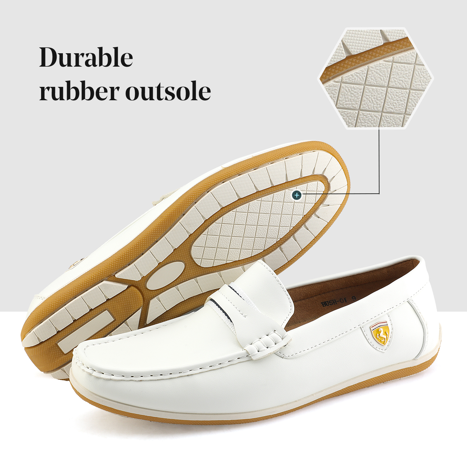 Bruno-Marc-Men-039-s-Casual-Loafers-Lightweight-Moccasins-Lazy-Driving-Soft-Shoes thumbnail 34