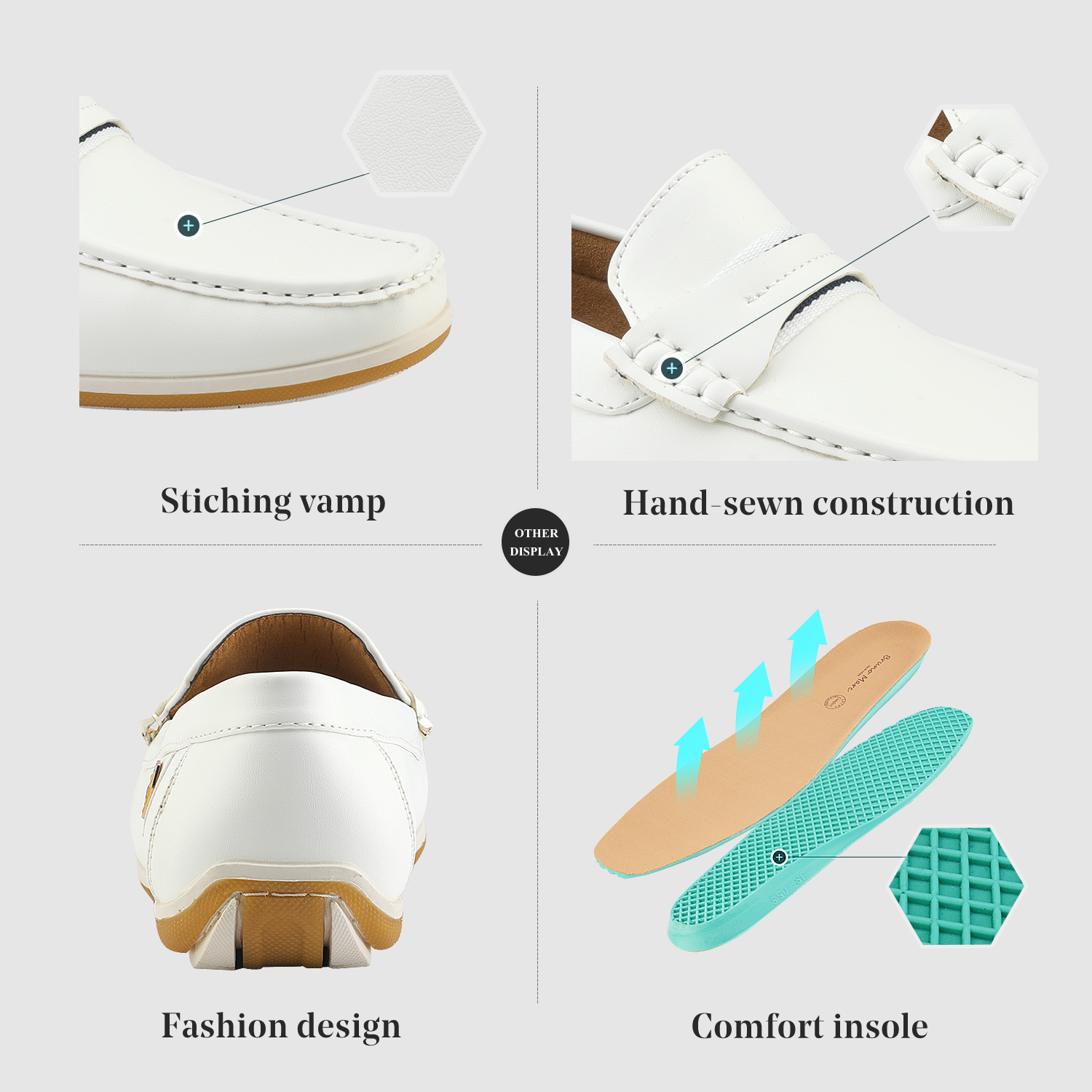 Bruno-Marc-Men-039-s-Casual-Loafers-Lightweight-Moccasins-Lazy-Driving-Soft-Shoes thumbnail 32