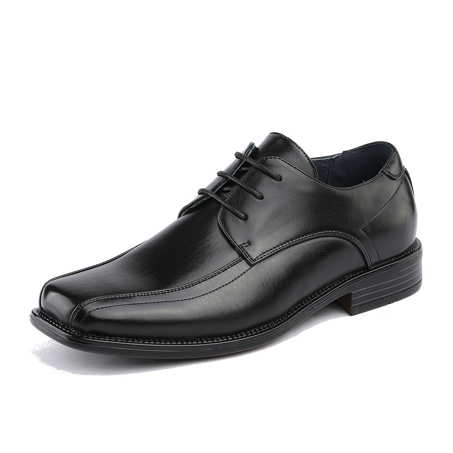 BRUNO-MARC-Men-STATE-Formal-Square-Toe-Leather-Lined-Slip-On-Dress-Loafers-Shoes thumbnail 20