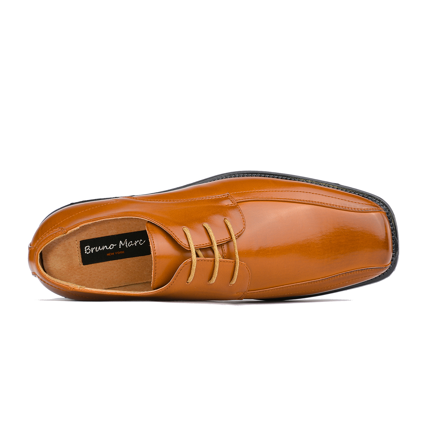 BRUNO-MARC-Men-STATE-Formal-Square-Toe-Leather-Lined-Slip-On-Dress-Loafers-Shoes thumbnail 27