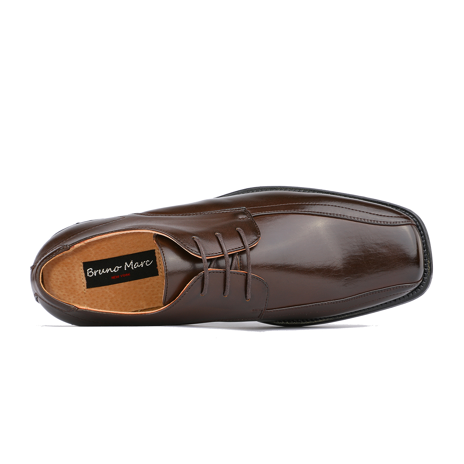 BRUNO-MARC-Men-STATE-Formal-Square-Toe-Leather-Lined-Slip-On-Dress-Loafers-Shoes thumbnail 32