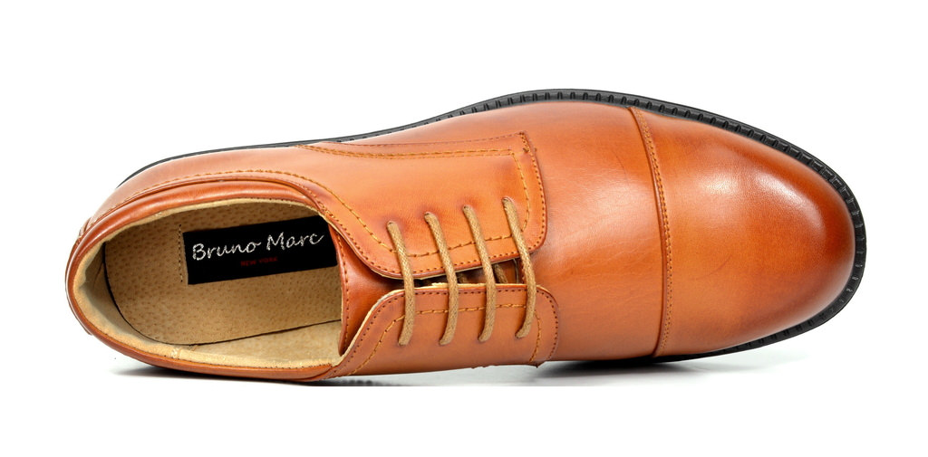 Bruno-MARC-DOWNING-Men-Formal-Classic-Lace-Up-Leather-Lined-Oxford-Dress-Shoes thumbnail 11