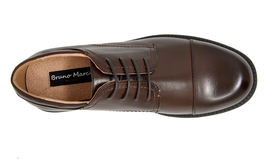 Bruno-MARC-DOWNING-Men-Formal-Classic-Lace-Up-Leather-Lined-Oxford-Dress-Shoes thumbnail 15