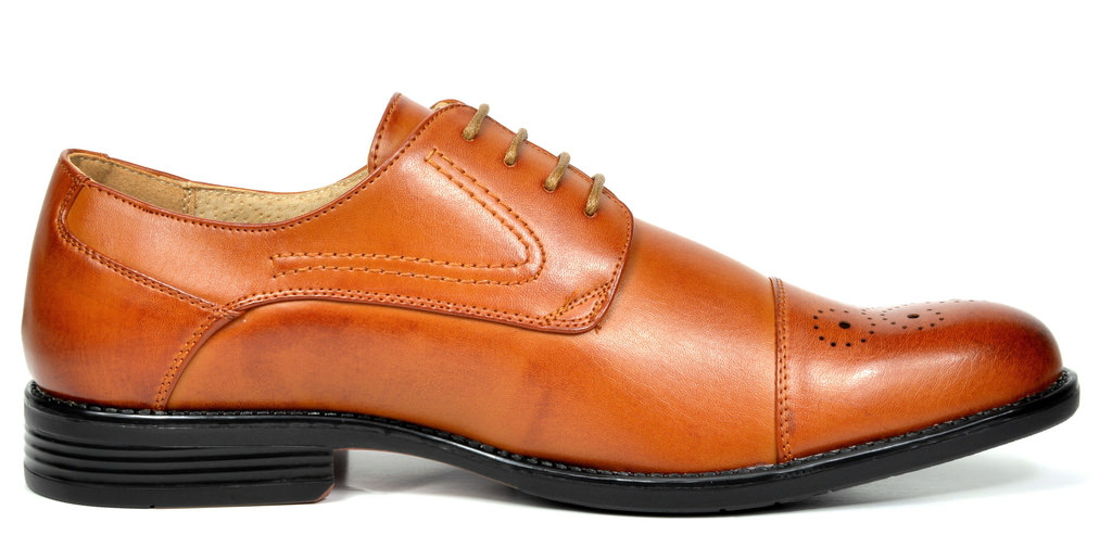 Bruno-Marc-Hommes-HALSTED-cuir-double-lacets-formel-Robe-Decontractee-derbies-chaussures miniature 9