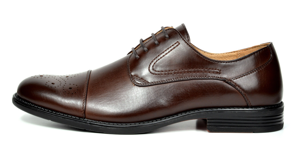 Bruno-Marc-Hommes-HALSTED-cuir-double-lacets-formel-Robe-Decontractee-derbies-chaussures miniature 12