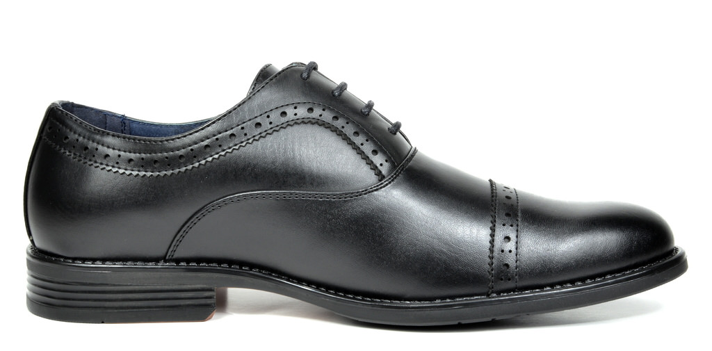 Bruno-Marc-Hommes-HALSTED-cuir-double-lacets-formel-Robe-Decontractee-derbies-chaussures miniature 18