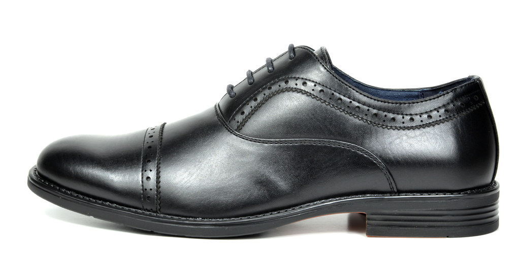Bruno-Marc-Hommes-HALSTED-cuir-double-lacets-formel-Robe-Decontractee-derbies-chaussures miniature 17