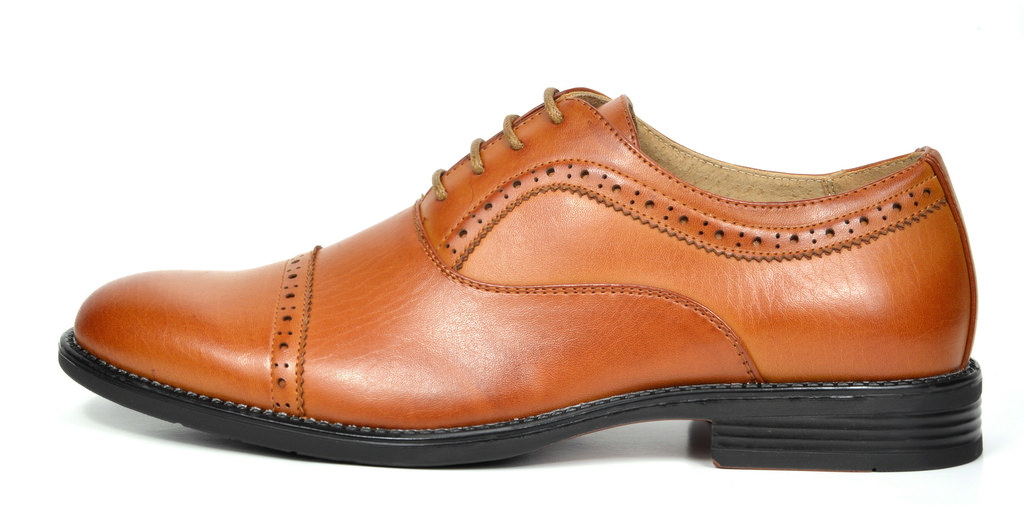 Bruno-Marc-Hommes-HALSTED-cuir-double-lacets-formel-Robe-Decontractee-derbies-chaussures miniature 20