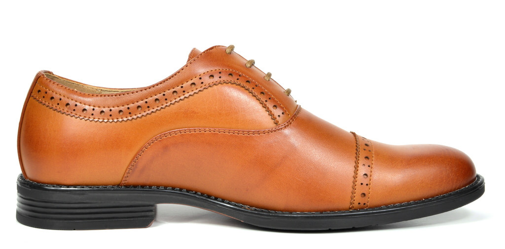Bruno-Marc-Hommes-HALSTED-cuir-double-lacets-formel-Robe-Decontractee-derbies-chaussures miniature 21