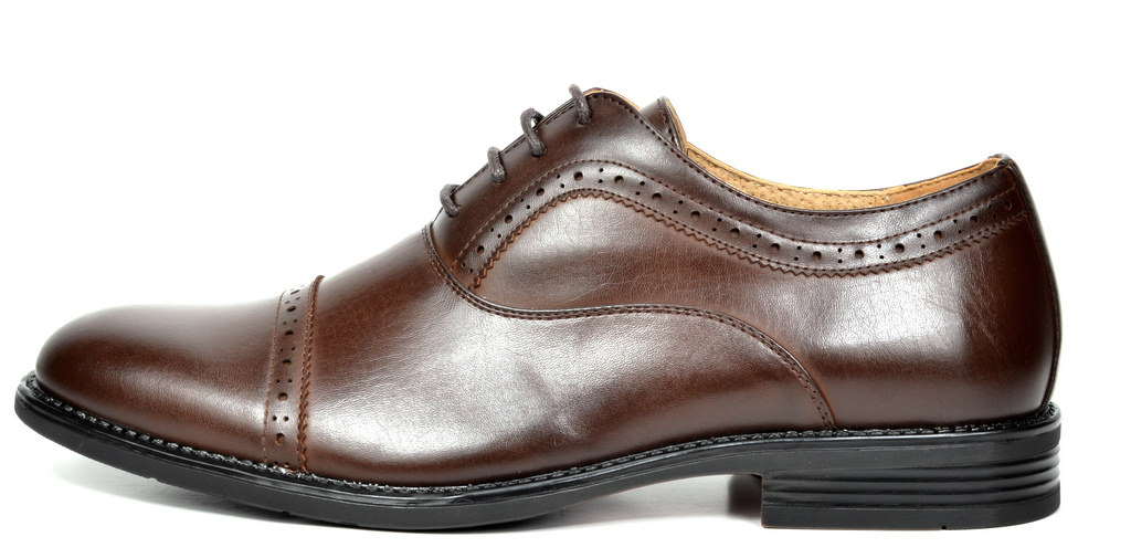 Bruno-Marc-Hommes-HALSTED-cuir-double-lacets-formel-Robe-Decontractee-derbies-chaussures miniature 25