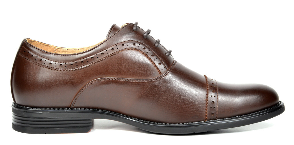 Bruno-Marc-Hommes-HALSTED-cuir-double-lacets-formel-Robe-Decontractee-derbies-chaussures miniature 26
