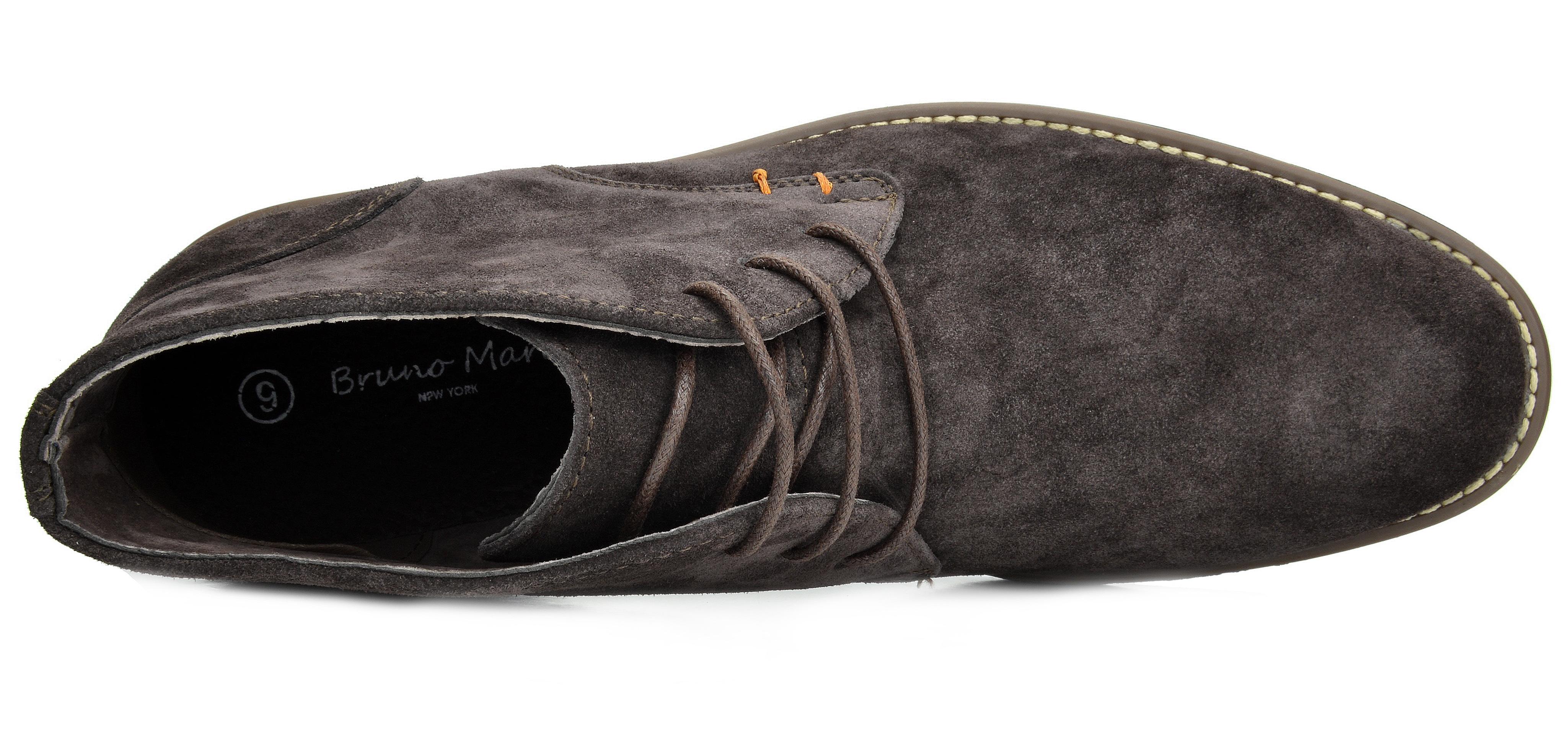 7c05e9f30eb4c Bruno Marc Men Urban Suede Leather Lace up Oxfords Desert Short ...