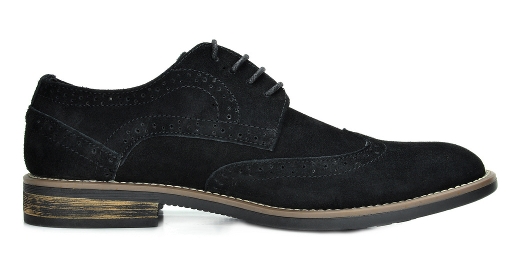 BRUNO-MARC-Fashion-Mens-Suede-Leather-Lace-up-Flats-Casual-Business-Oxford-Shoes thumbnail 7