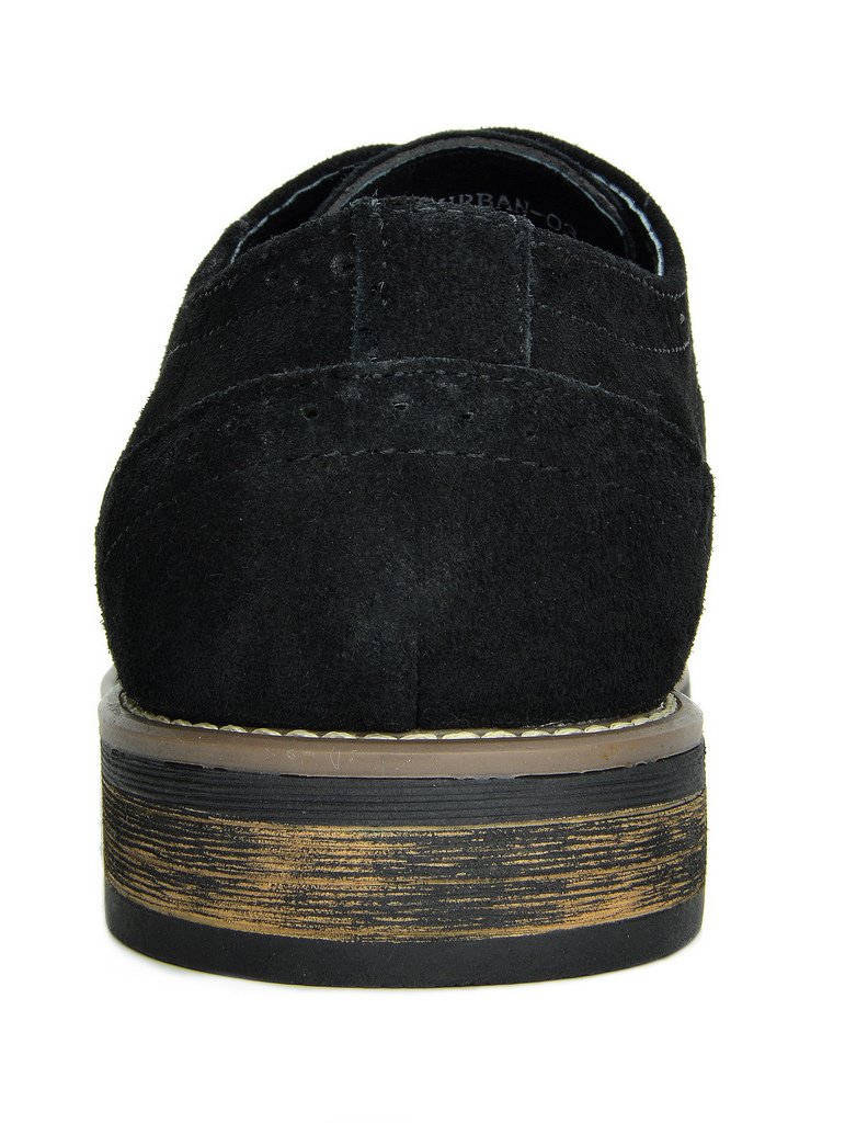 BRUNO-MARC-Fashion-Mens-Suede-Leather-Lace-up-Flats-Casual-Business-Oxford-Shoes thumbnail 8