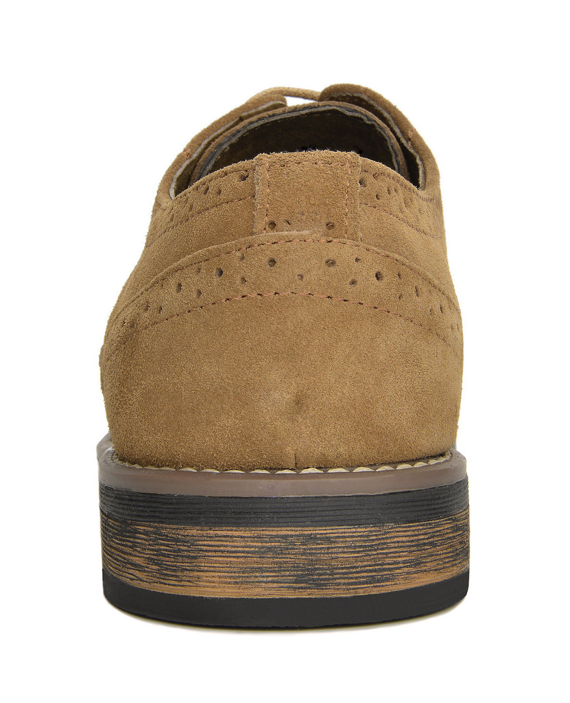 BRUNO-MARC-Fashion-Mens-Suede-Leather-Lace-up-Flats-Casual-Business-Oxford-Shoes thumbnail 12