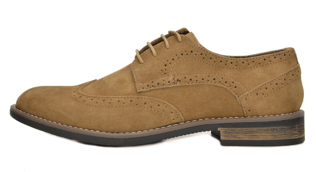BRUNO-MARC-Fashion-Mens-Suede-Leather-Lace-up-Flats-Casual-Business-Oxford-Shoes thumbnail 10