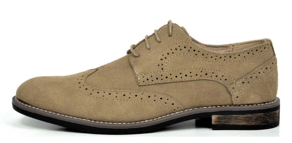 BRUNO-MARC-Fashion-Mens-Suede-Leather-Lace-up-Flats-Casual-Business-Oxford-Shoes thumbnail 14