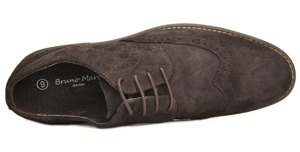 BRUNO-MARC-Fashion-Mens-Suede-Leather-Lace-up-Flats-Casual-Business-Oxford-Shoes thumbnail 21