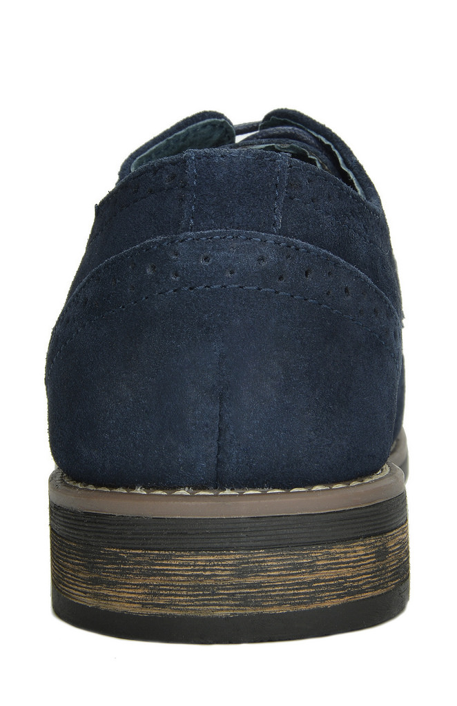 BRUNO-MARC-Fashion-Mens-Suede-Leather-Lace-up-Flats-Casual-Business-Oxford-Shoes thumbnail 25