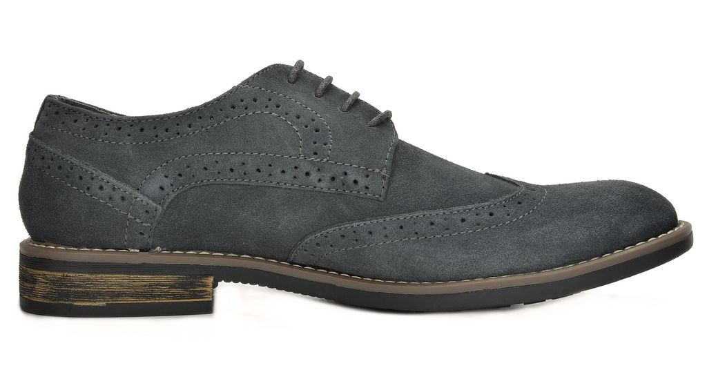 BRUNO-MARC-Fashion-Mens-Suede-Leather-Lace-up-Flats-Casual-Business-Oxford-Shoes thumbnail 29
