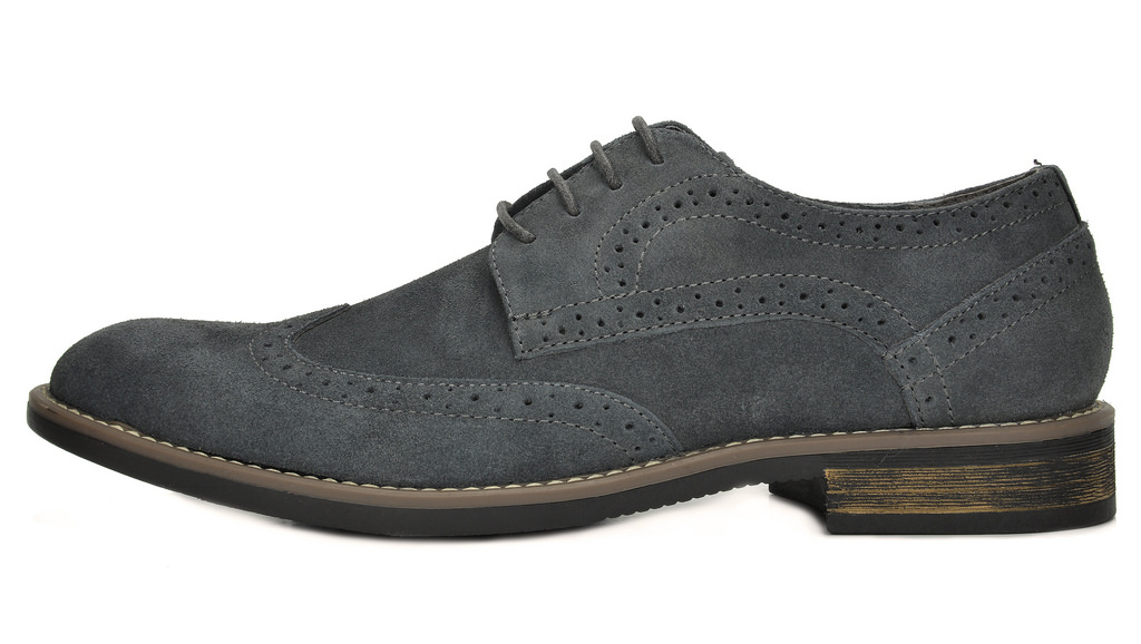 BRUNO-MARC-Fashion-Mens-Suede-Leather-Lace-up-Flats-Casual-Business-Oxford-Shoes thumbnail 28