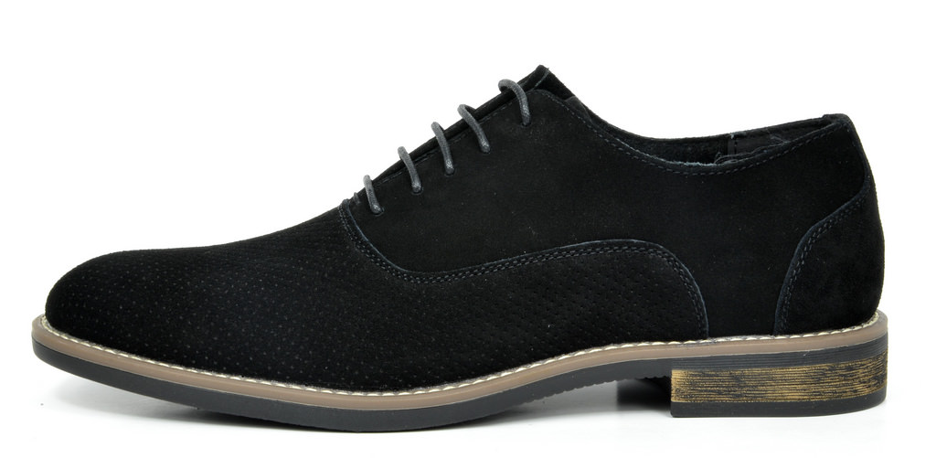 BRUNO-MARC-Fashion-Mens-Suede-Leather-Lace-up-Flats-Casual-Business-Oxford-Shoes thumbnail 40