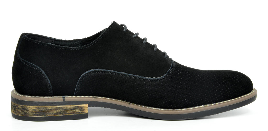 BRUNO-MARC-Fashion-Mens-Suede-Leather-Lace-up-Flats-Casual-Business-Oxford-Shoes thumbnail 41