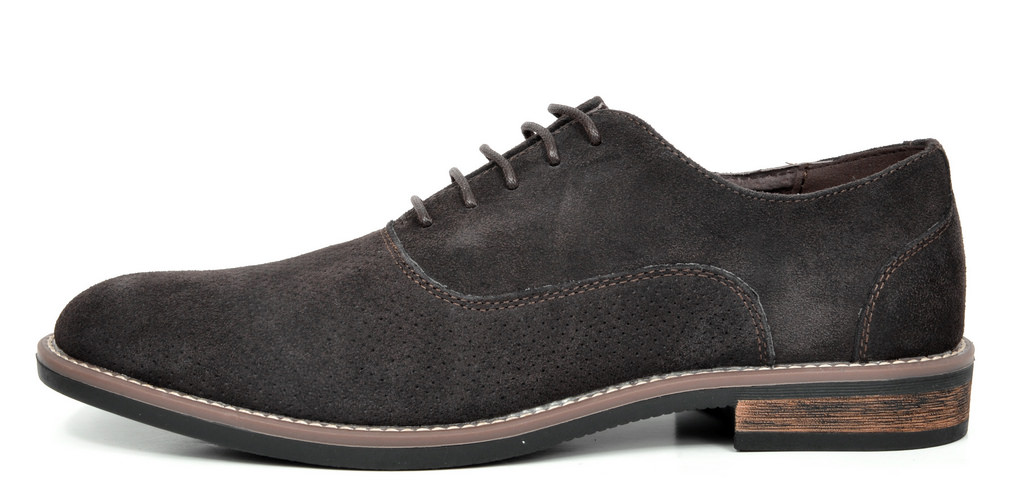 BRUNO-MARC-Fashion-Mens-Suede-Leather-Lace-up-Flats-Casual-Business-Oxford-Shoes thumbnail 53