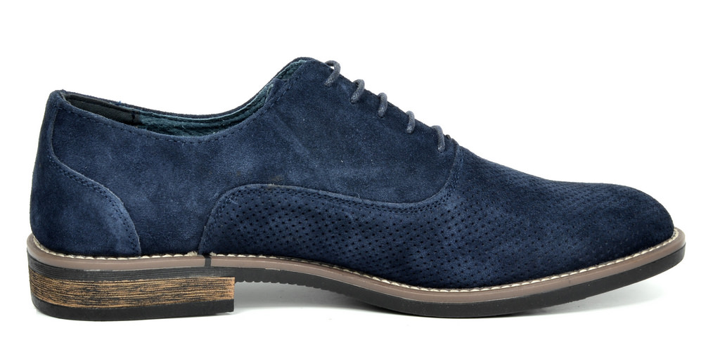 BRUNO-MARC-Fashion-Mens-Suede-Leather-Lace-up-Flats-Casual-Business-Oxford-Shoes thumbnail 58