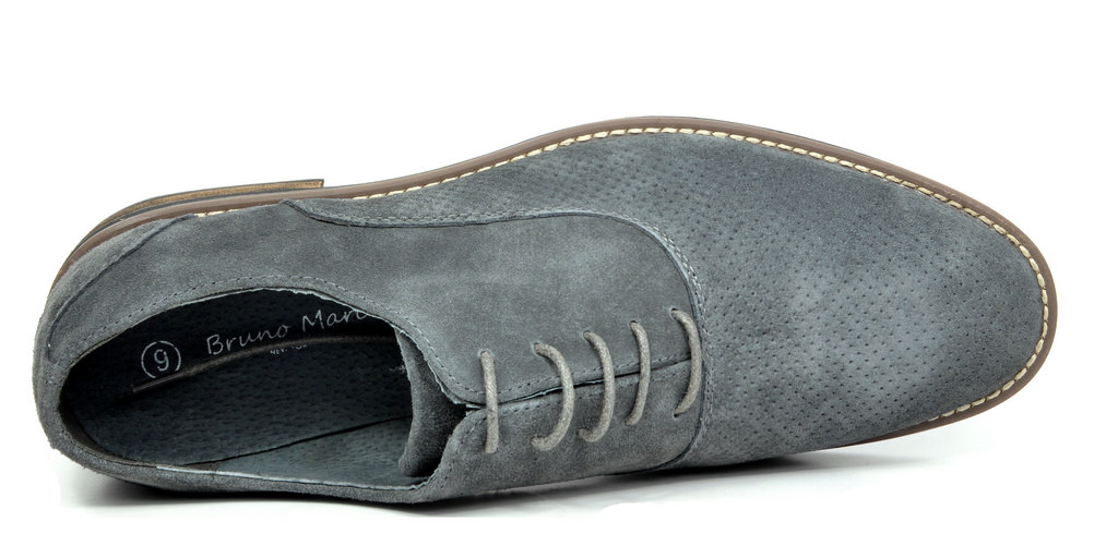 BRUNO-MARC-Fashion-Mens-Suede-Leather-Lace-up-Flats-Casual-Business-Oxford-Shoes thumbnail 63