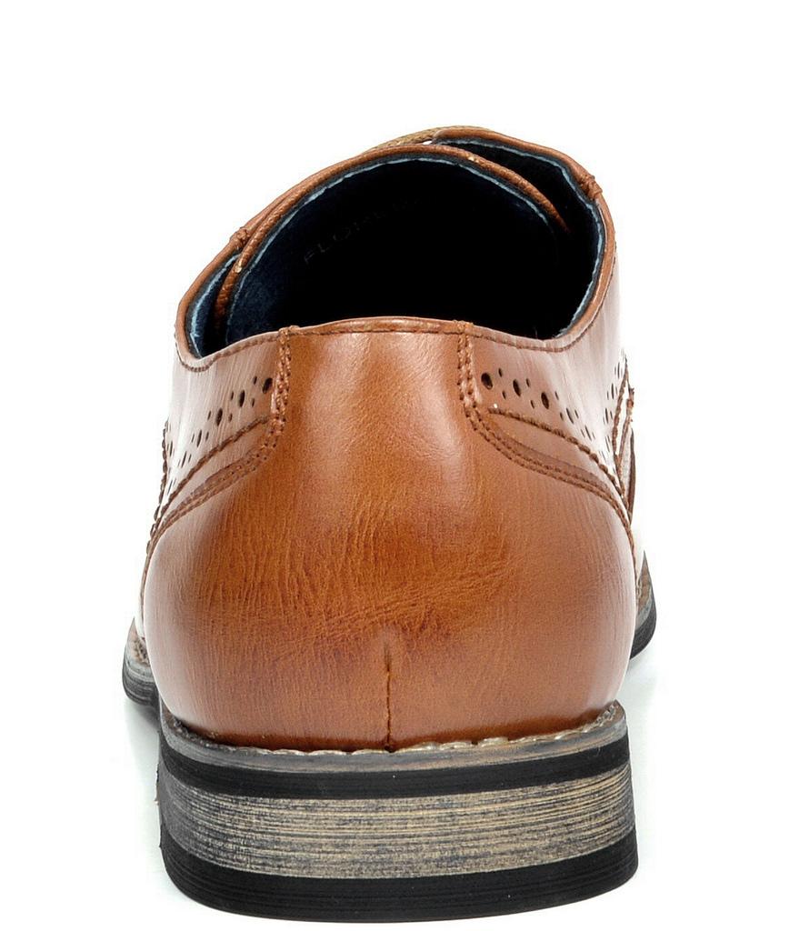 Bruno-Marc-Florence-pour-homme-1-formelle-de-mariage-en-Cuir-Synthetique-Double-derbies-chaussures miniature 15