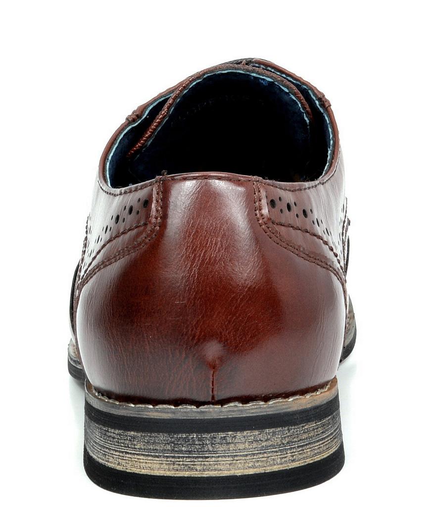 Bruno-Marc-Florence-pour-homme-1-formelle-de-mariage-en-Cuir-Synthetique-Double-derbies-chaussures miniature 22