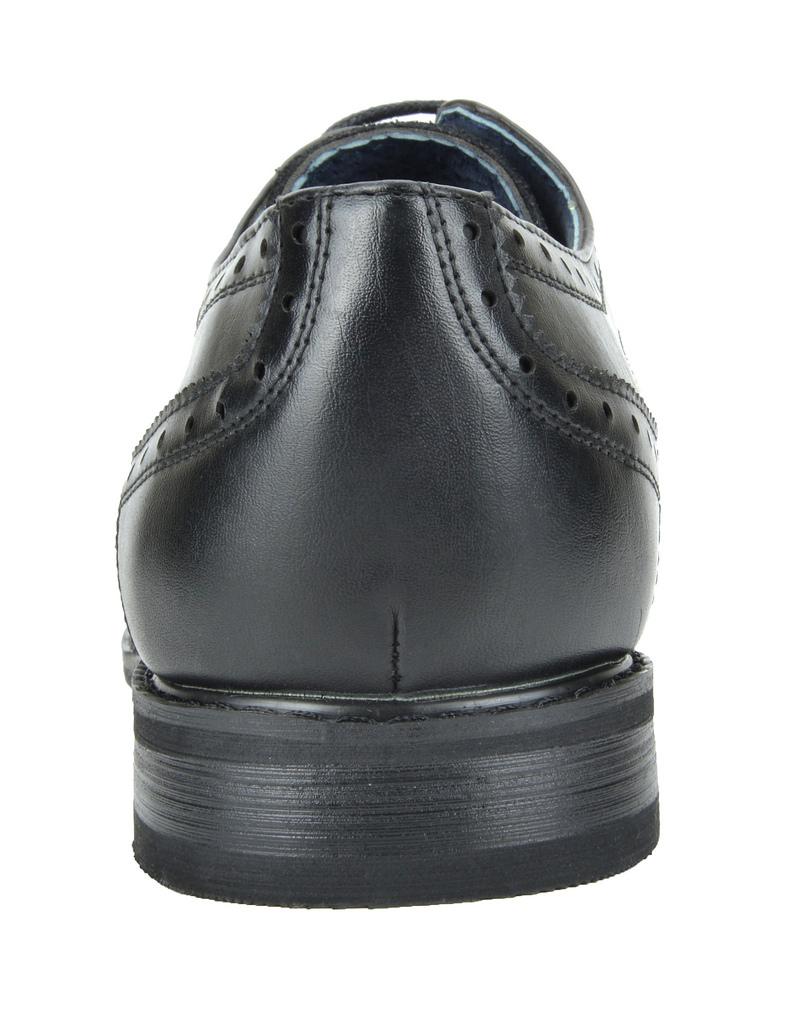 Bruno-Marc-Prince-pour-homme-en-cuir-double-lacets-Wing-Tip-formelle-robe-derbies-chaussures miniature 31