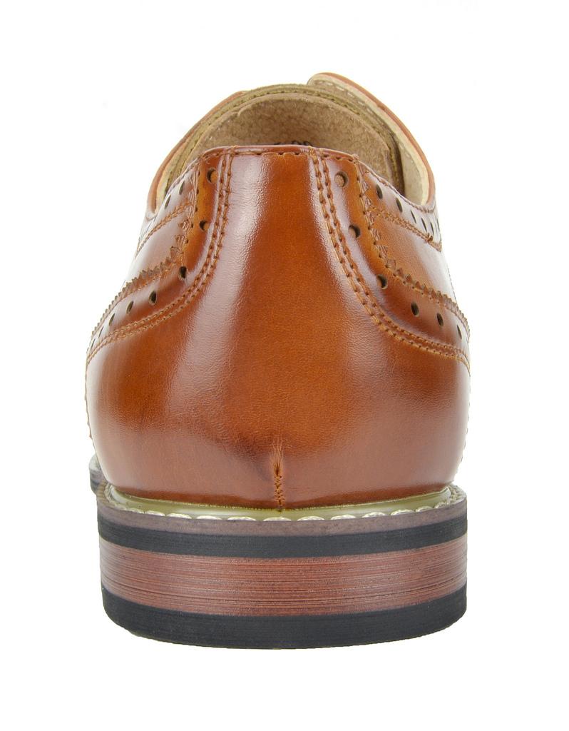 Bruno-Marc-Prince-pour-homme-en-cuir-double-lacets-Wing-Tip-formelle-robe-derbies-chaussures miniature 24