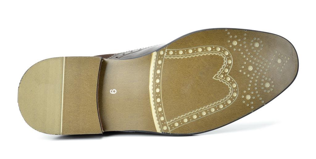 Bruno-Marc-Prince-pour-homme-en-cuir-double-lacets-Wing-Tip-formelle-robe-derbies-chaussures miniature 18