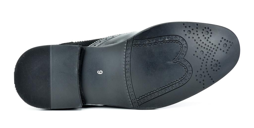 Bruno-Marc-Prince-pour-homme-en-cuir-double-lacets-Wing-Tip-formelle-robe-derbies-chaussures miniature 11