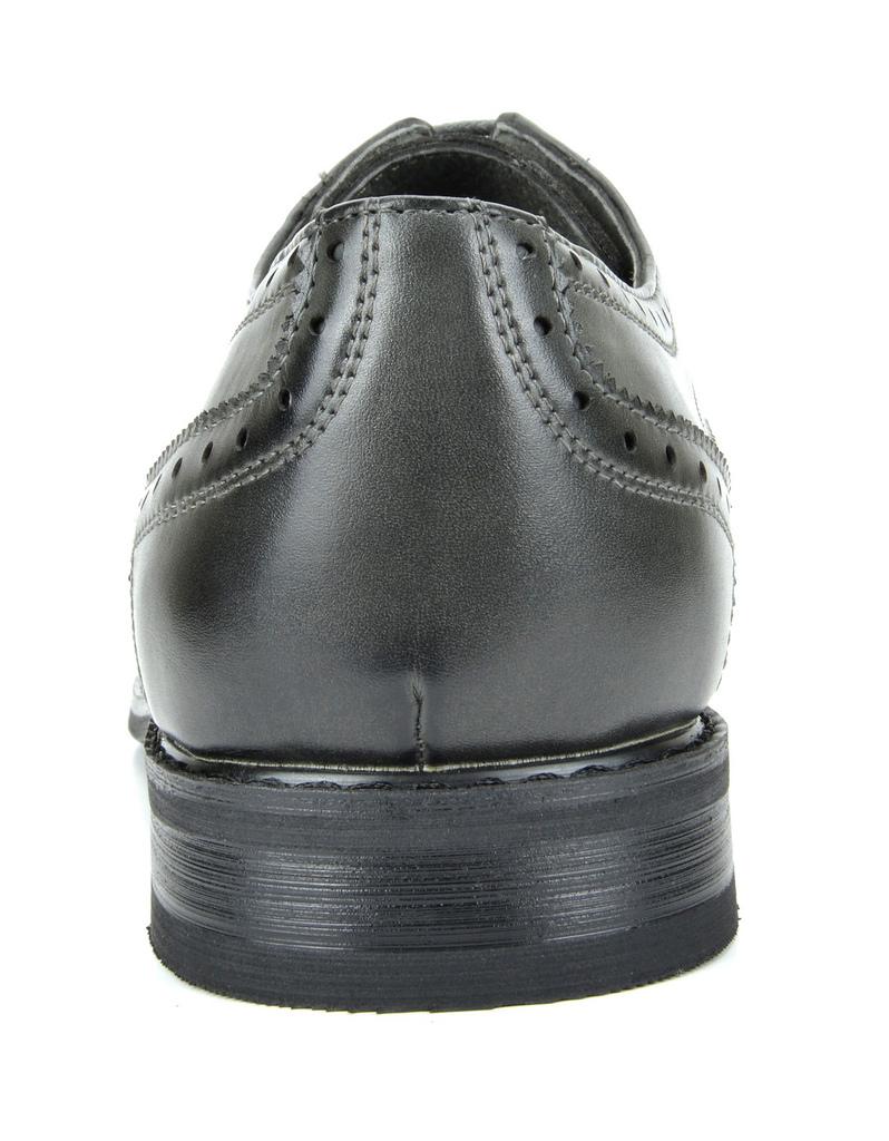 Bruno-Marc-Prince-pour-homme-en-cuir-double-lacets-Wing-Tip-formelle-robe-derbies-chaussures miniature 10