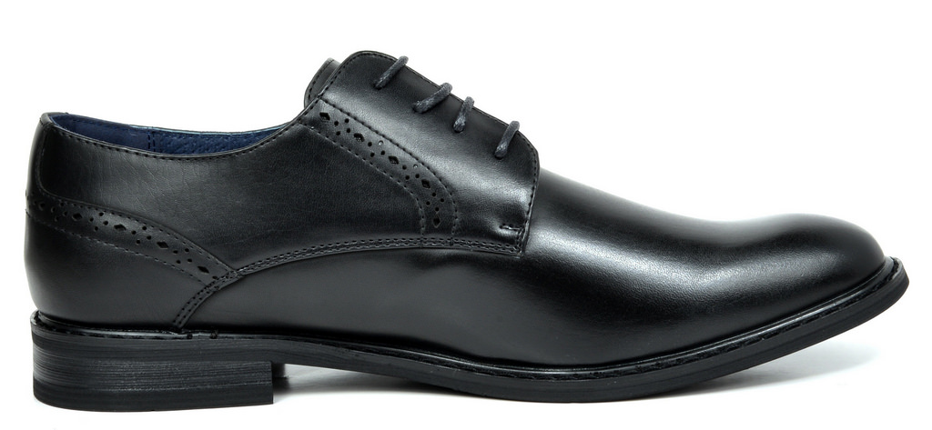 Bruno-Marc-Mens-Leather-Formal-Lined-Brogue-Design-Classic-Dress-Oxfords-Shoes thumbnail 32