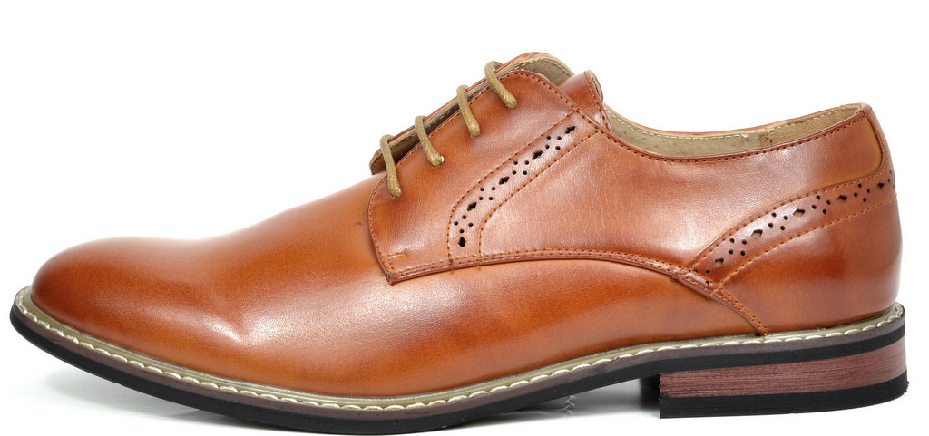 Bruno-Marc-Mens-Leather-Formal-Lined-Brogue-Design-Classic-Dress-Oxfords-Shoes thumbnail 24