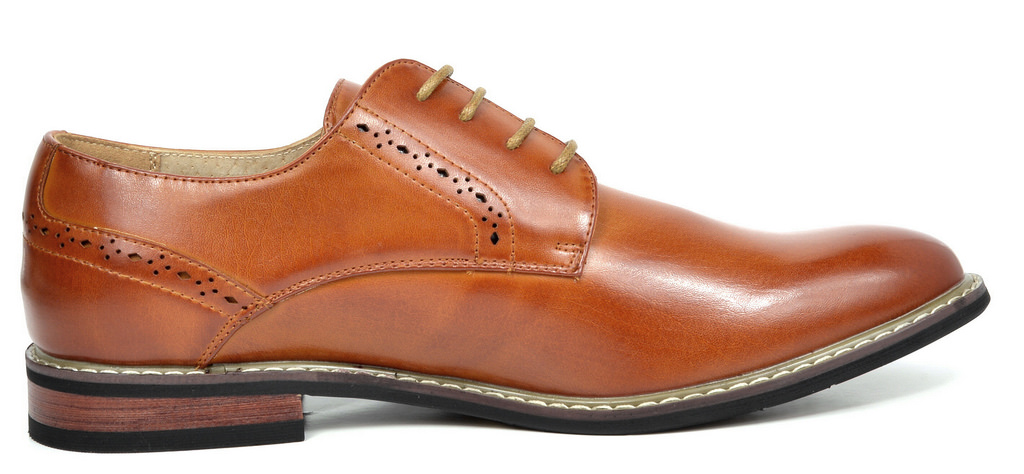 Bruno-Marc-Mens-Leather-Formal-Lined-Brogue-Design-Classic-Dress-Oxfords-Shoes thumbnail 25