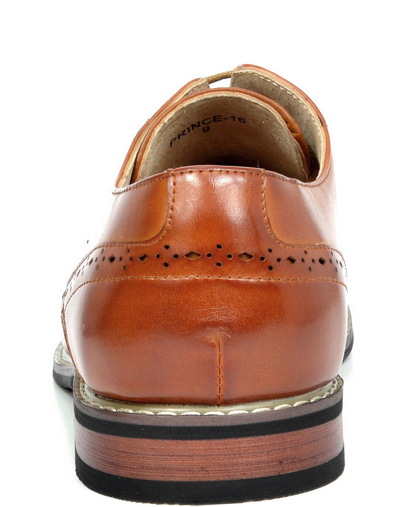 Bruno-Marc-Mens-Leather-Formal-Lined-Brogue-Design-Classic-Dress-Oxfords-Shoes thumbnail 27