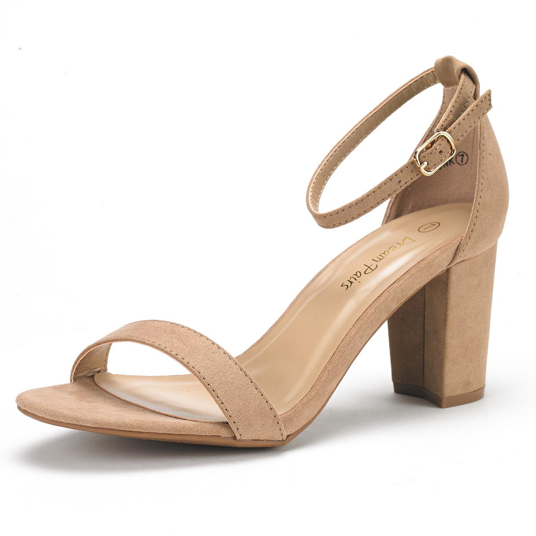 Nude shoes low heel