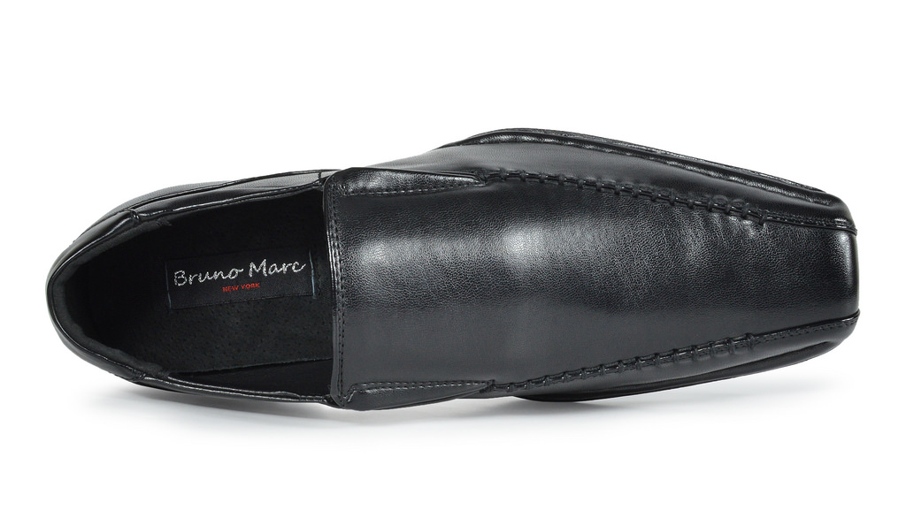 Bruno-MARC-GIORGIO-Mens-Square-Toe-Stretch-Insert-Slip-On-Loafers-Dress-Shoes thumbnail 35