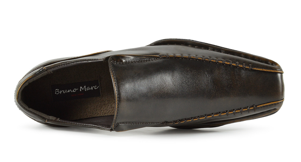 Bruno-MARC-GIORGIO-Mens-Square-Toe-Stretch-Insert-Slip-On-Loafers-Dress-Shoes thumbnail 42