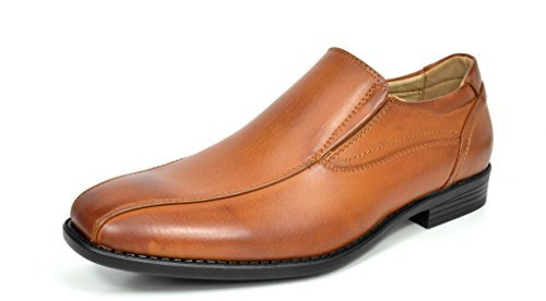 Bruno-MARC-GIORGIO-Mens-Square-Toe-Stretch-Insert-Slip-On-Loafers-Dress-Shoes thumbnail 50