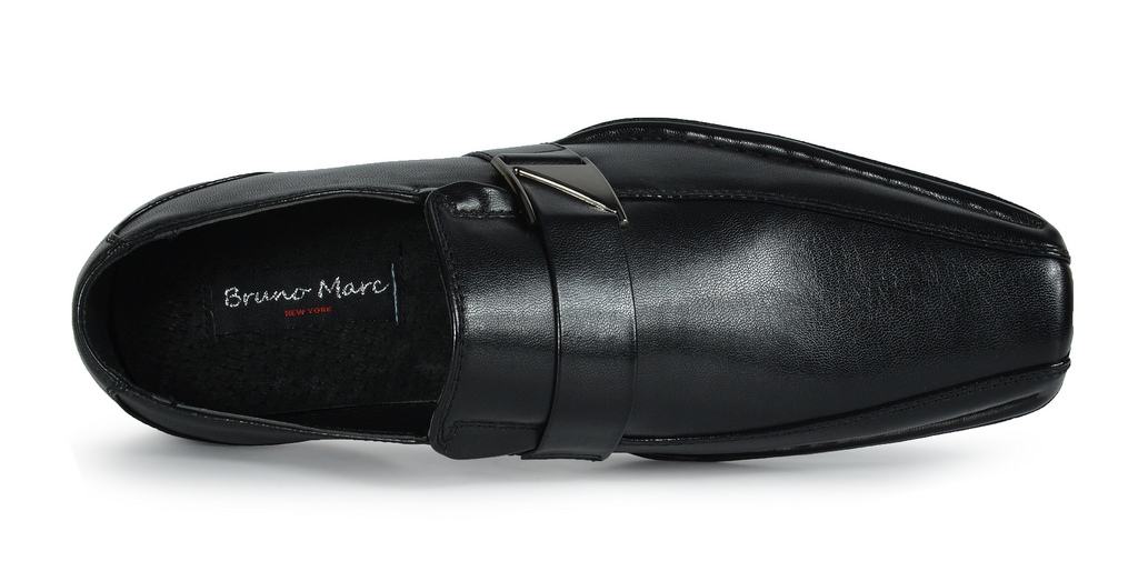 Bruno-MARC-GIORGIO-Mens-Square-Toe-Stretch-Insert-Slip-On-Loafers-Dress-Shoes thumbnail 68