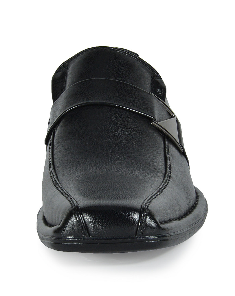 Bruno-MARC-GIORGIO-Mens-Square-Toe-Stretch-Insert-Slip-On-Loafers-Dress-Shoes thumbnail 66