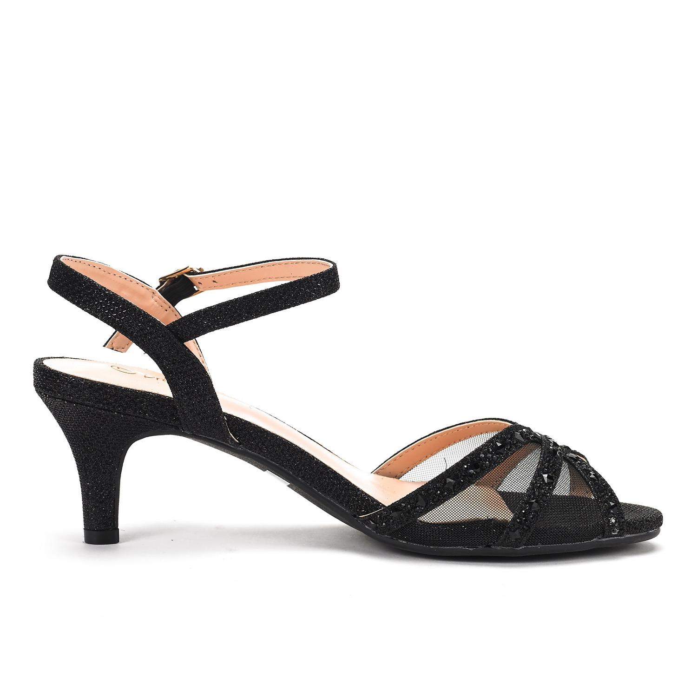 DREAM-PAIRS-Women-Nina-Summer-Dance-Open-Toe-Dress-Wedding-Low-Heel-Pump-Sandals thumbnail 8