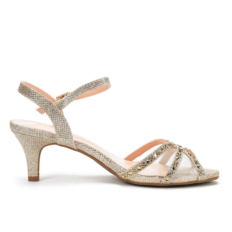 DREAM-PAIRS-Women-Nina-Summer-Dance-Open-Toe-Dress-Wedding-Low-Heel-Pump-Sandals thumbnail 14