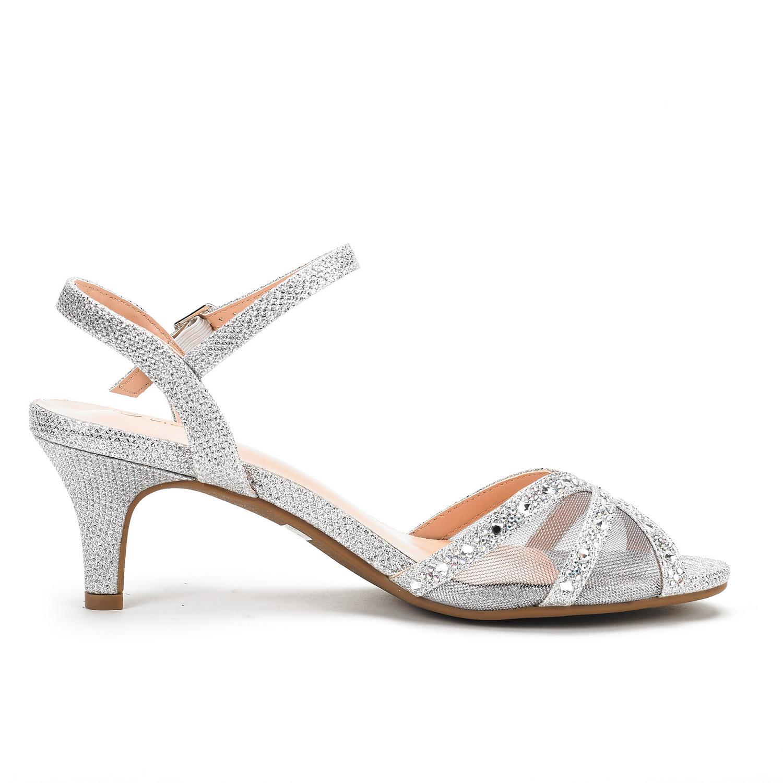 DREAM-PAIRS-Women-Nina-Summer-Dance-Open-Toe-Dress-Wedding-Low-Heel-Pump-Sandals thumbnail 20